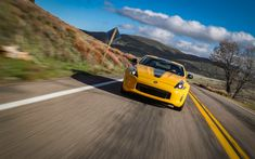 Download Wallpapers Nissan 370Z Heritage Edition, Road, 2018 Cars, Motion  Blur, New