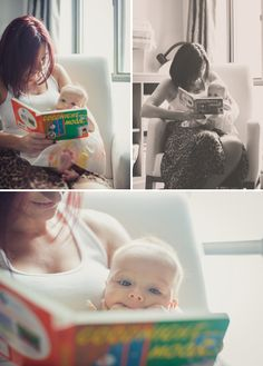 Three-month-old Portraits with Baby Girl Logan