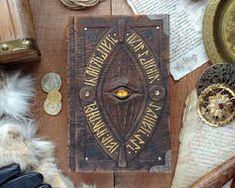 255e5ff93cd3b Le Grimoire du Seigneur du Magma by MilleCuirs on DeviantArt Taschenuhr