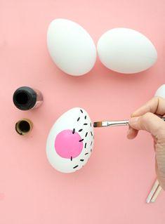 DIY Pastel Memphis Easter Eggs-4