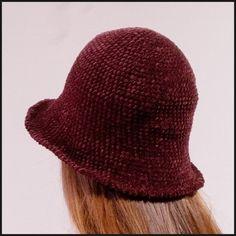 벨벳 버킷 햇 만들기 (도안 첨부) : 네이버 블로그 Knit Crochet, Diy And Crafts, Winter Hats, Beanie, Knitting, Sticks, Hooks, Crocheting, Caps Hats