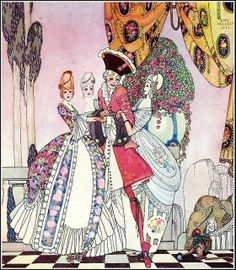 From In Powder and Crinoline _ Kay Nielsen