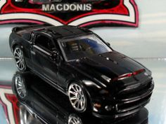hot wheels super-maquina knight rider kitt knight 3000 ford mustang gt500kr shelby super snake 1:64 scale