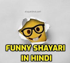 Funny Shayari in hindi- {Quotes + Video} Shayari In Hindi, Hindi Quotes, Latest Comedy, Funny Statuses, Our Life, Sad, Happiness, In This Moment, Reading