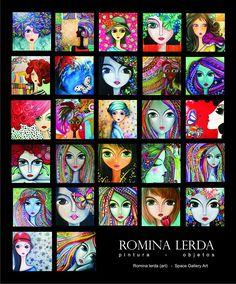 Romina Lerda Artista Plástica Sketch Manga, Painting Of Girl, Arte Popular, Arte Floral, Face Art, Indian Art, Doodle Art, Altered Art, Art Girl