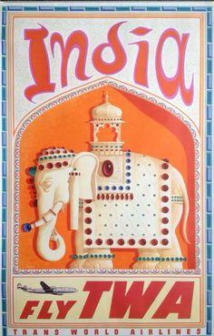 TWA to India