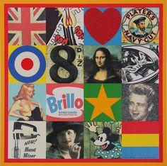 Peter Blake, Sources of Pop Art V, 2007