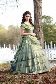 (via My Style(Stuff I like as well as ideas for character outfits) / Sage Southern Belle Dress)