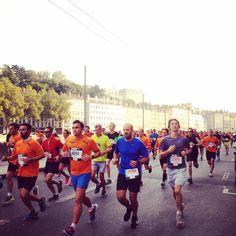 Marathon de Lyon Run In Lyon