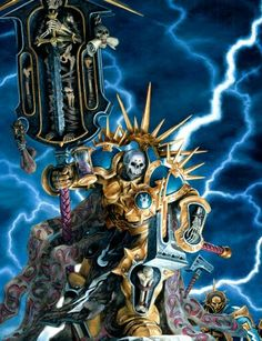 Age of Sigmar Lord Relictor Artwork Warhammer Fantasy, Warhammer Aos, Warhammer 40000, Fantasy Battle, High Fantasy, Medieval Fantasy, Tomb Kings, Sci Fi Miniatures, Stormcast Eternals