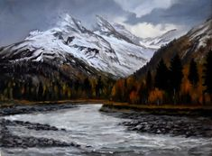 View: Late fall in the mountains | Artfinder