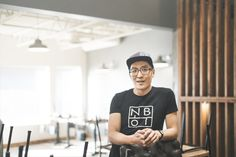 John Ahn loves food. He left his successful marketing career to open up a restaurant with zero experience