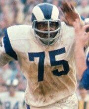 "Dave ""Deacon"" Jones - Los Angeles Rams, San Diego Chargers, Washington Redskins - Defensive End"