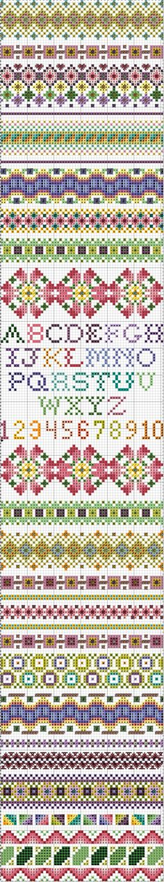 October 2011 Stitch Sampler