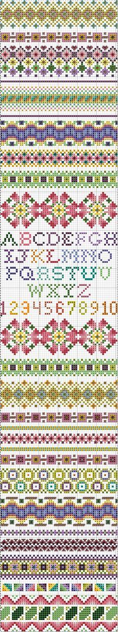 October 2011 Stitch Sampler