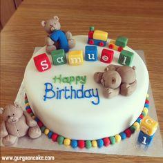 Baby Boy First Birthday Cake Ideas