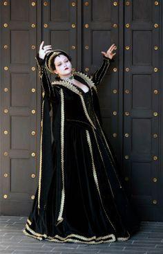 Tudor oder Elizabeth-Kleid by Annette Gomizugami-sama. mein Goldenes Prunk-Kleid.