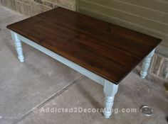 coffee table makeover 12