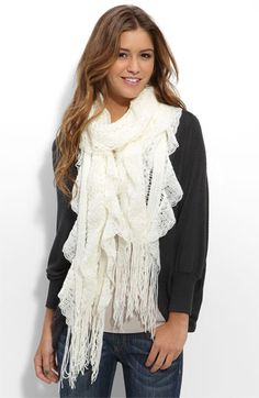 white scarf that goes with anything