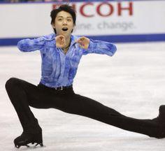 Yuzuru Hanyu, Japanese figure skater, was brilliant in Team Men's Short Program!  He OWNS the ice! #Sochi 2014