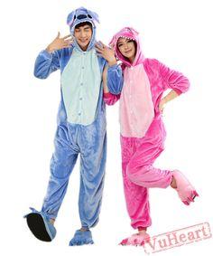 cd1c7a938ec Purple Stitch Couple Onesies   Pajamas   Costumes. Couples OnesiesOnesie  PajamasBeautiful Bridesmaid DressesAnimal CostumesCostumes For WomenCosplay  ...