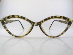 508aecebb14 Vintage 80s eyeglass frames Christian Lacroix 7312 Austria 56-16