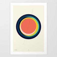 Future Globes 003 — Matthew Korbel-Bowers Art Print