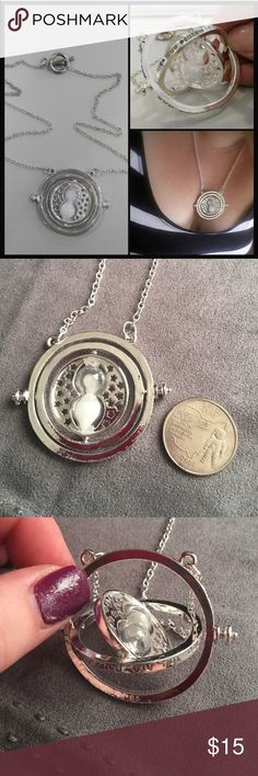 Time Turner Necklace Read description. In fashion jewelry packaging Jewelry Necklaces