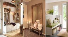 25 idées pour aménager et décorer votre entrée Decoration Entree, Future House, Floating Shelves, Sweet Home, Entryway, Places, Inspiration, Furniture, Houses