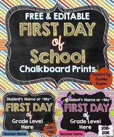 FREE & EDITABLE Firs