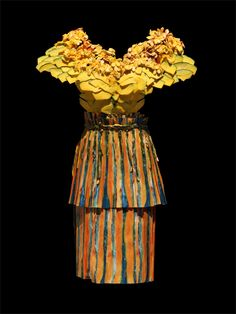 Yeonju Sung. Pumpkin Dress.