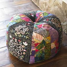 Bromeliad: DIY Wednesday: Pouf baby - the Moroccan pouf revisited - Fashion and home decor DIY and inspiration