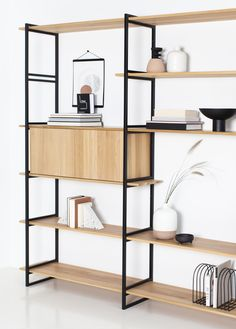 Classic Furniture Design, Shelf Furniture, Iron Furniture, Shelving Design, Interior, Home Office Decor, Wall Unit, Living Room Wall Units, Home Decor
