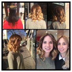 Ana aún más  guapa con una melena midi y un suave balayage. #balayage #estilistas #ronco #moda #peluqueros #color #creacion #hair