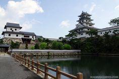 Beautiful Imabari Castle in Ehime Prefecture (Shikoku).