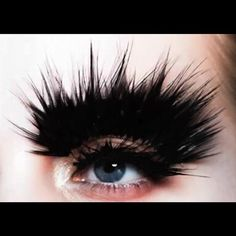 Decorated feathered brow by pat mcgrath