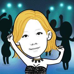 night Club  dancing! dancing all night  #Facecon #face #gif #SNL #Dance