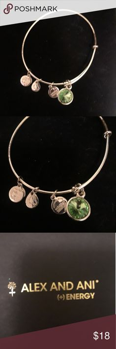 Alex and Ani Energy bracelet Brabd new in box is this Gorgeous bracelet . The bracelet charms create  positive energy. Alex and Ani Jewelry Bracelets