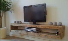 9 Ideen den Fernseher auf originelle Weise im Wohnbereich aufzuhängen, damit er sich kunstvoll an die Zimmerumgebung anpasst ... - DIY Bastelideen