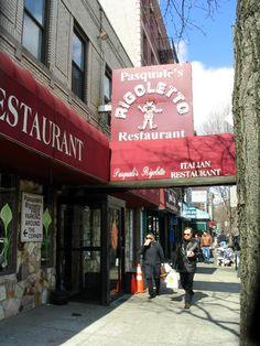 Pasquale's Rigoletto Restaurant, 2311 Arthur Avenue, Belmont, The Bronx