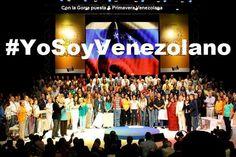 Los artistas venezolanos con Capriles