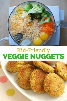 These Veggie Nuggets are healthy, kid-friendly, and addictively delicious! They're full of veggies and perfect for lunch boxes or easy snacks for kids. These Veggie Nuggets are healthy, kid friendly, and simple to make. Perfect for lunch boxes and snacks. Vegetarian Nuggets, Veggie Nuggets, Fish Nuggets, Easy Snacks For Kids, Healthy Toddler Meals, Healthy Recipes For Toddlers, Healthy Cooking, Healthy Meals For Toddlers, Kids Healthy Lunches