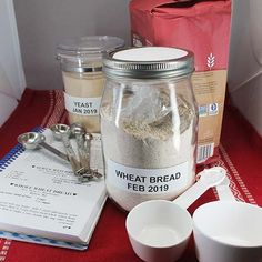 "Thinking outside the ""bread mix box"" means you can create your own! Save time using this guide for homemade bread mix. Baking Tips, Bread Baking, Wheat Bread Recipe, Whole Grain Flour, Types Of Bread, Bread Mix, Instant Recipes, Easy Bread, Dry Hands"