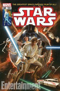 Star Wars #1 terá capa feita por Alex Ross - veja a imagem > Quadrinhos   Omelete