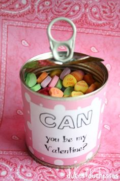 """can"" you be my Valentine?"