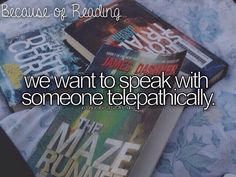 it would be amazing. but this wasn't because of the maze runner. i've read books…