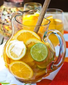 Style on a Budget White Sangría Spanish Wine Cocktail with Fresh Fruit from 100 Recipes Every Woman Should Know (the engagement chicken cookbook) By Cindi Leive  This wine cocktail is so very cool because I absolutely love white wine and I also adore Sangría. So, the person who created this recipe is someone after my own heart. http://heymse.tumblr.com/post/142315215306/style-on-a-budget-white-sangr%C3%ADa-spanish-wine #RelationshipCooking#EngagementChickenCookbook