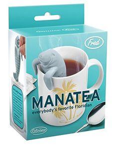 Fred & Friends UNDER THE TEA Tee-Ei Manatea blau: Amazon.de: Küche & Haushalt