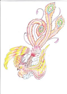 Image detail for -phoenix bird tattoo design: fotolar