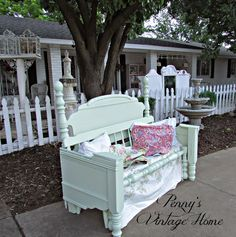 Penny's Vintage Home: Let's Make a Garden Bench